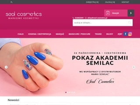 Seol-cosmetics.pl zestawy Semilac