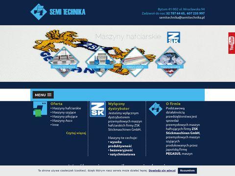 Semitechnika.com maszyny hafciarskie