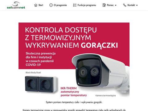 SelCamNet - program do monitoringu przemysłowego