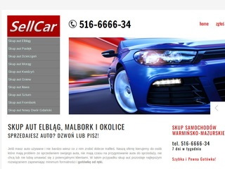 Sell-car.pl skup aut