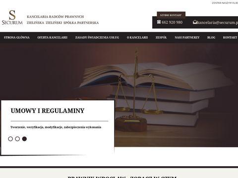 Securum.pl - prawnik Wrocław