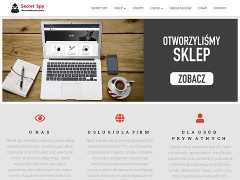 Secretspy.pl - detektyw Wrocław