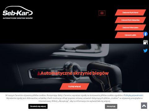 Sebkar.pl automatyczne skrzynie biegów