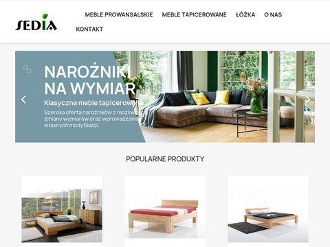 Sedia.pl producent krzesł, stołów, łóżek z litego drewna