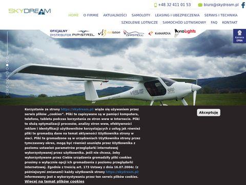 Skydream.pl samoloty ultralekkie