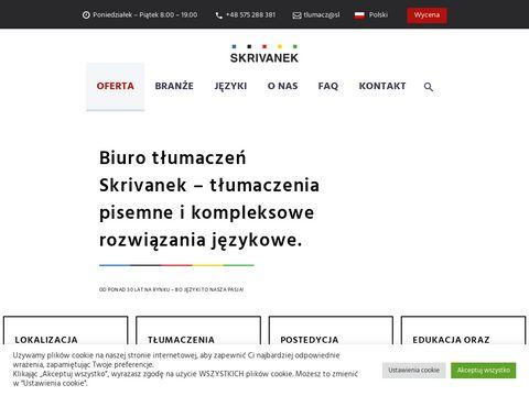 Skrivanek.pl biuro tłumaczeń