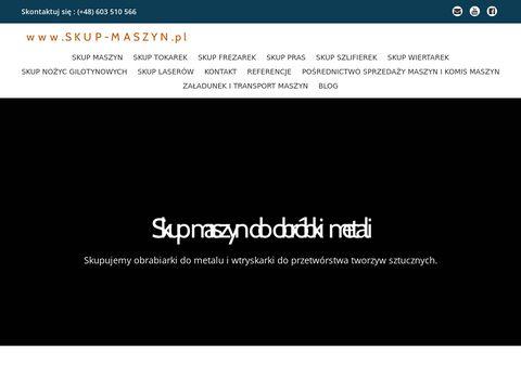 Skup-maszyn.pl - obrabiarek do metali