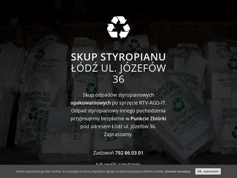 Skupstyropianu.pl odbiór i utylizacja