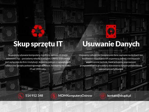 Skupit.pl usuwanie danych