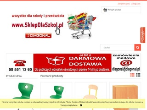 Diagonal meble dla szkół