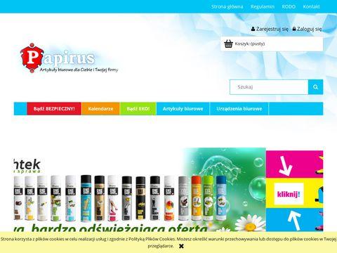 Skleppapirus.pl artykuły biurowe