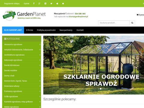 Gardenplanet - wyposażenie ogrodów