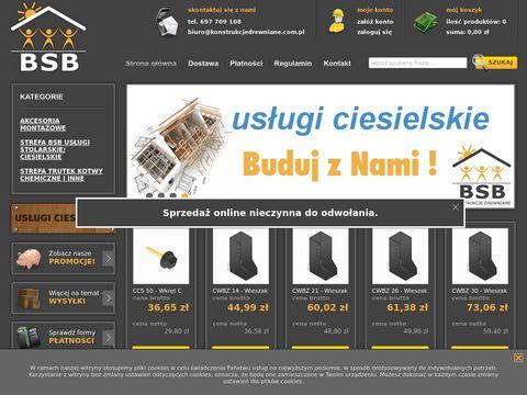 BSB konstrukcje drewniane sklep