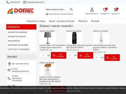 Hspdomet - sklep internetowy