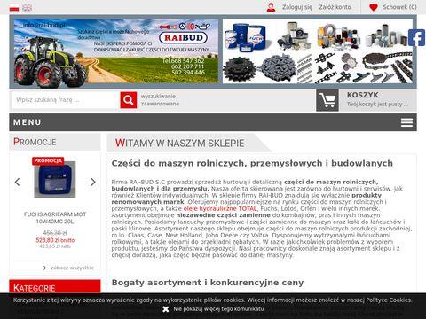 Sklep.rai-bud.pl łańcuchy rolkowe