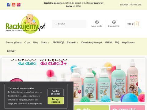 Sklep.raczkujemy.pl naturalne produkty dla dzieci