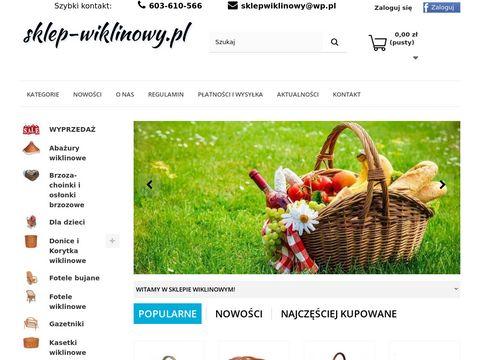 Sklep-Wiklinowy.pl - wyroby z wikliny