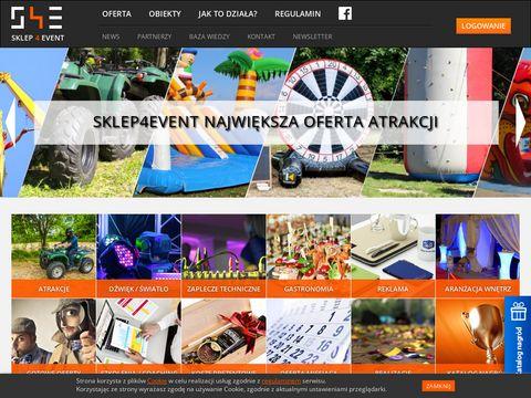 Sklep4event.pl - atrakcje na imprezy
