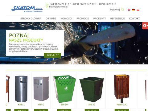 Skatom.com.pl - pojemniki na odpady komunalne