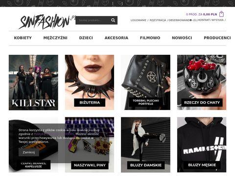 Sinfashion.pl koszulki muzyczne
