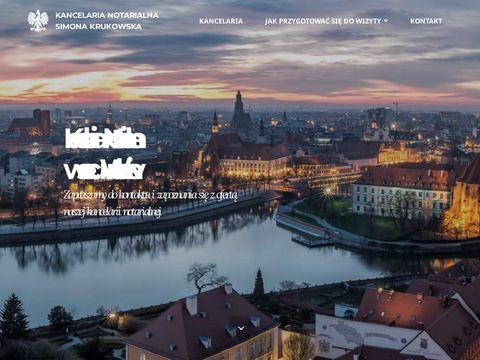 Simona.com.pl kancelaria notarialna