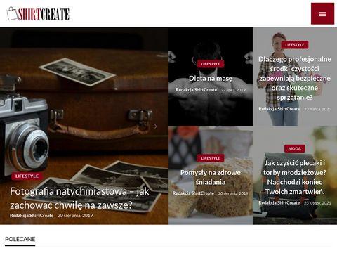 Shirtcreate.pl koszulki z własnym nadrukiem