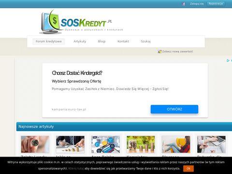 SOSKredyt.pl - forum pożyczkobiorców