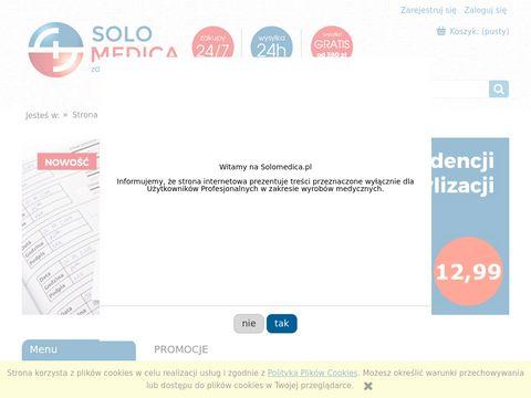 Solomedica.pl - rękawiczki medyczne