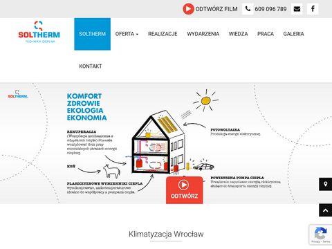 Soltherm.pl Klimatyzacja, klimatyzatory, pompy ciepła
