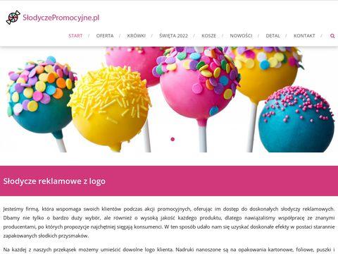 Slodyczepromocyjne.pl reklamowe i kosze prezentowe