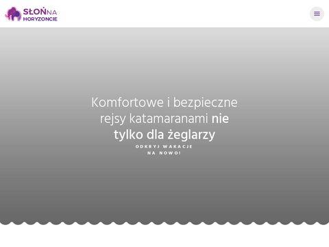 Slonnahoryzoncie.com Tematyczne Rejsy Żeglarskie