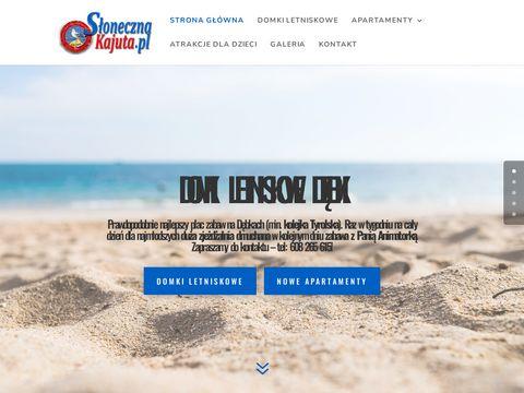 Slonecznakajuta.pl domki letniskowe Dębki