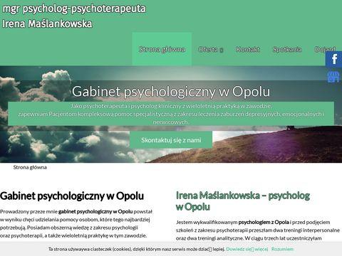 Mgr Irena Maślankowska nauka asertywności Opole