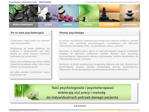 Psycholog-psychoterapia.com Warszawa