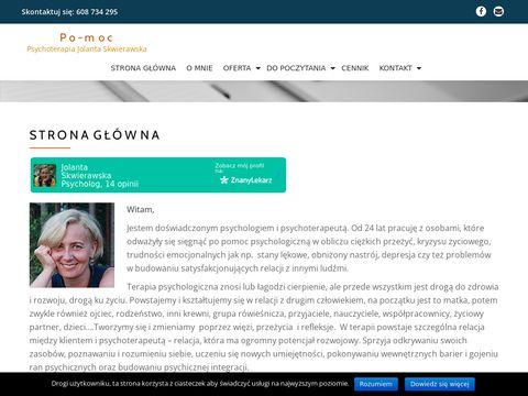 Psychoterapia Kraków - Jolanta Skwierawska