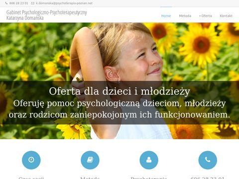 Psychoterapia-poznan.net - Katarzyna Domańska