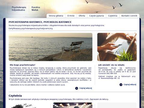 Psychoterapia-indywidualna.pl psycholog Katowice
