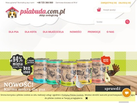 Psiabuda.com.pl Wszystko dla Twojego pupila