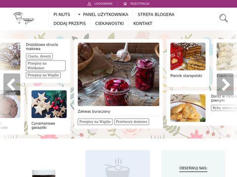 Przepis-y.pl - internetowa baza przepisów