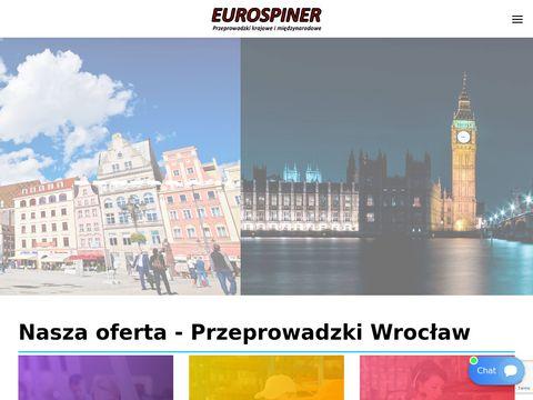 Eurospiner przeprowadzki Wrocław