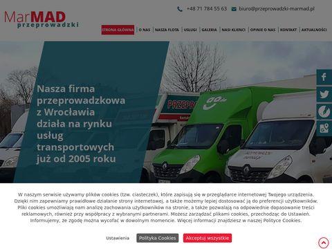 MarMad przewóz mebli Wrocław