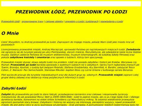 Przewodnik-lodz.eu zabytek fabryka Scheiblera