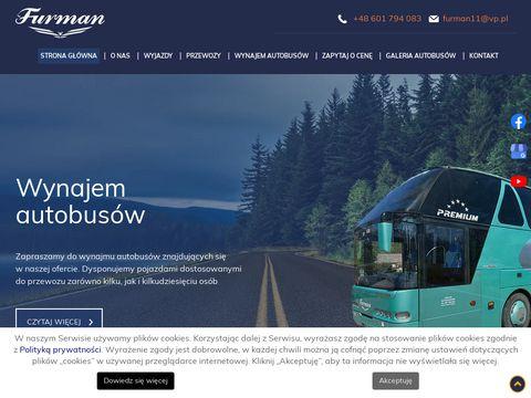 Przewozyzacharski.pl wynajem autokarów