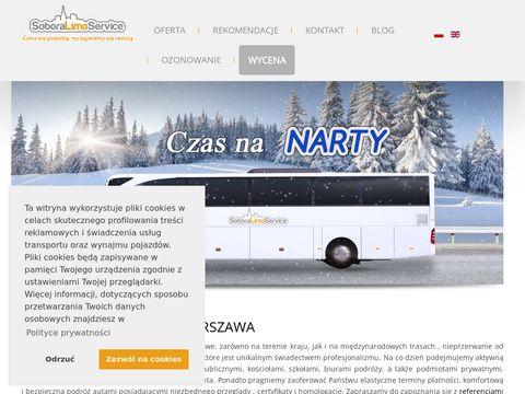 Przewozosob.waw.pl wynajem autokarów Warszawa