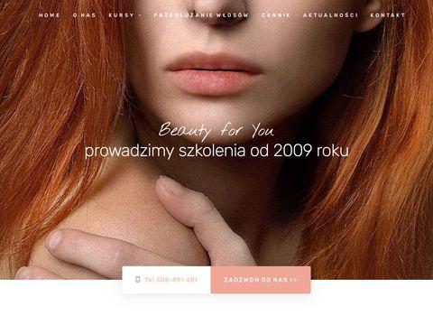 Przedluzanie-wlosow.info.pl szkolenie