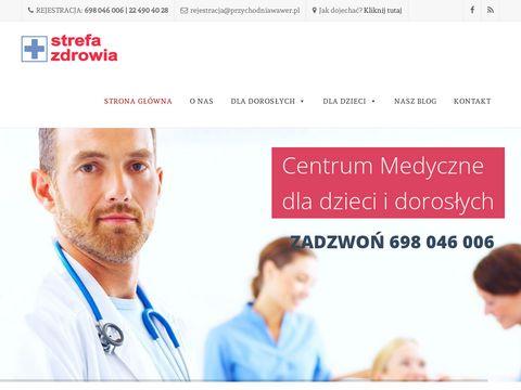 Przychodniawawer.pl Strefa Zdrowia