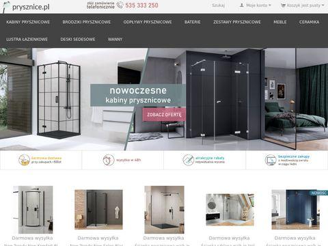 Prysznice.pl akcesoria łazienkowe