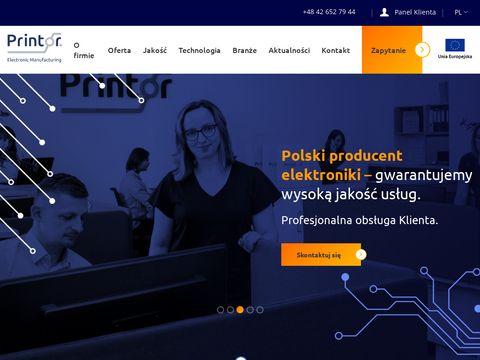 Printor.pl montaż powierzchniowy SMT
