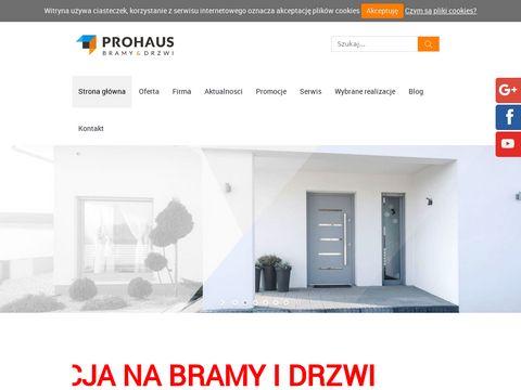 Prohaus Bramy Hormann w mieście Szczecin