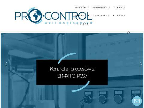 Pro-control.pl systemy sterowania